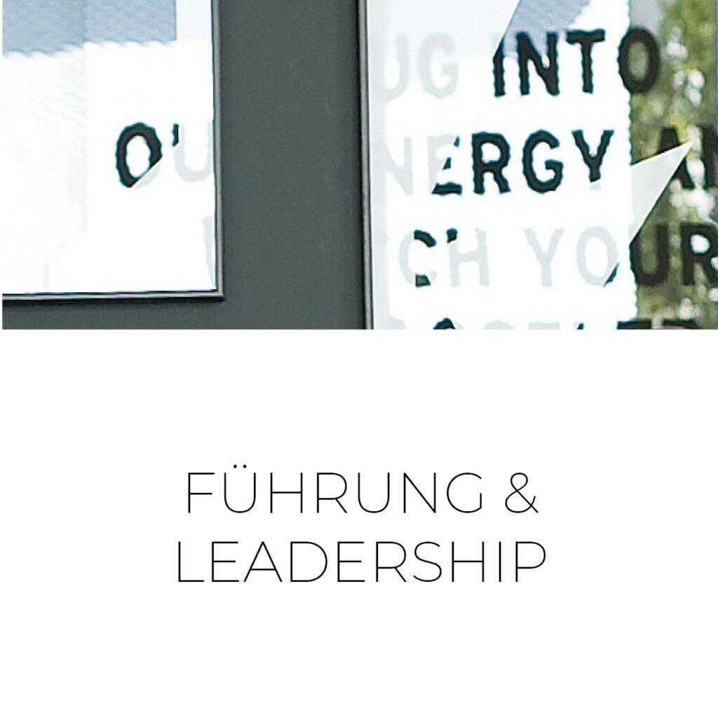 Führung und Leadership Frankfurt