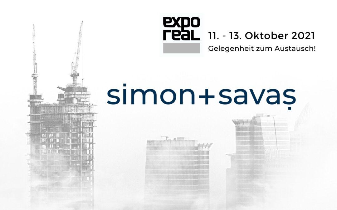 simon+savas ist auf der EXPO REAL2021